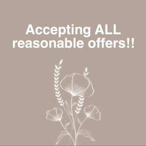 🧡 ACCEPTING ALL REASONABLE OFFERS!🧡